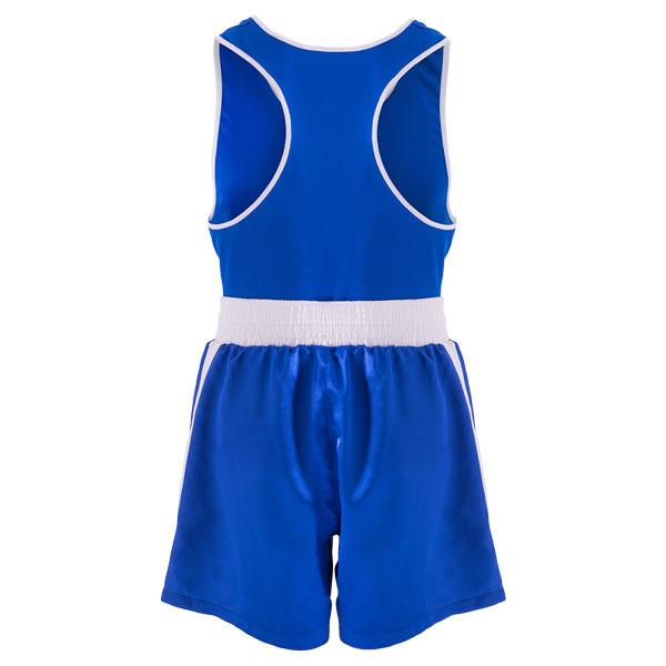 Форма боксерская BS-101 детская (шорты+майка) синяя фото