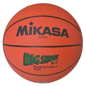 Мяч баскетбольный MIKASA 1020 (размер 7) оранжевый