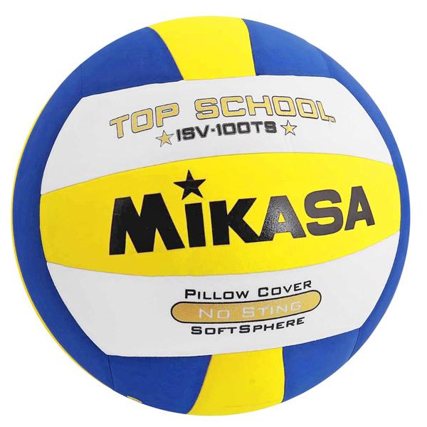Мяч волейбольный MIKASA ISV100TS (размер 5) синт.кожа