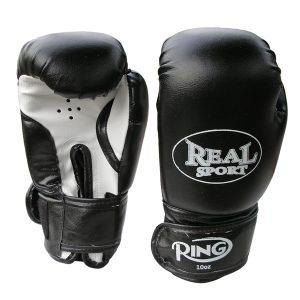 Боксерские перчатки Ring Master черные
