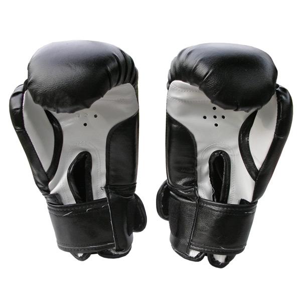 Боксерские перчатки Ring Master черные фото