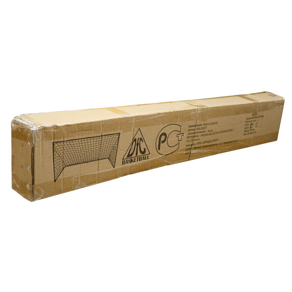 Ворота для футбола 2,4х1,2м GOAL240S упаковка