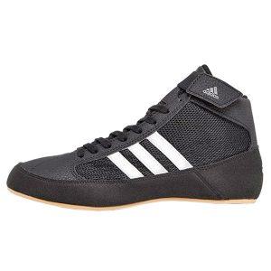 Борцовки adidas HVC 2 Kids черно-белые AQ3327