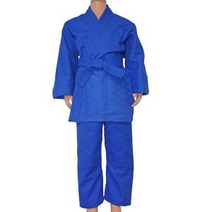 Кимоно дзюдо синее Д4 фото