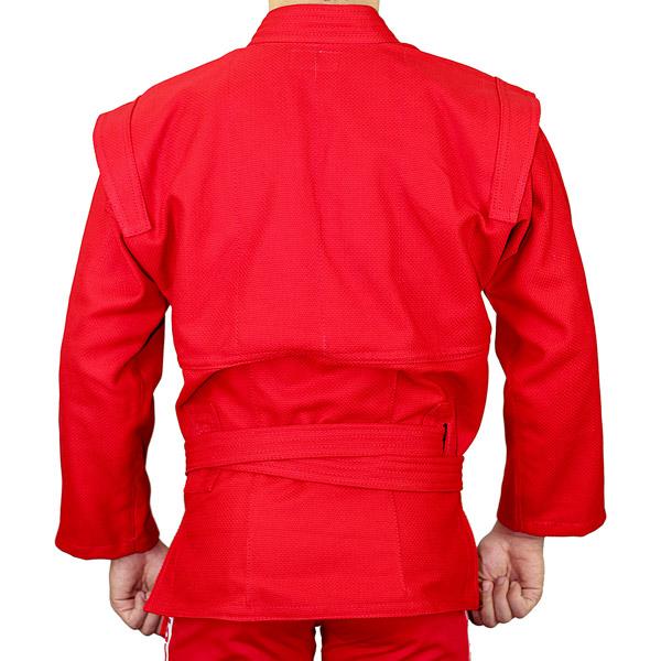 Куртка для самбо АТАКА красная
