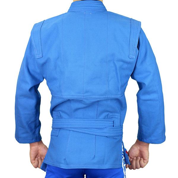 Куртка для самбо АТАКА синяя