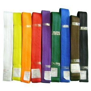 Цветной пояс для кимоно П2