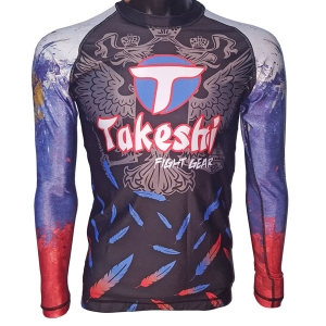 Рашгард Takeshi Fight Gear Russia TFG-17-01 фото