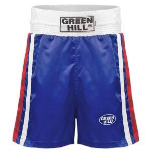 Трусы боксерские OLYMPIC BSO-6320 синие