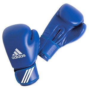 Перчатки боксерские aiba Adidas синие