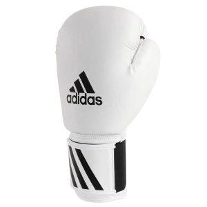 Перчатки боксерские Speed 50 adiSBG50 белые фото
