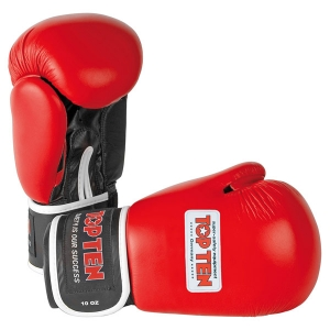 Перчатки для бокса TOP TEN AIBA красные