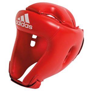 Шлем боксерский adiBH01 красный