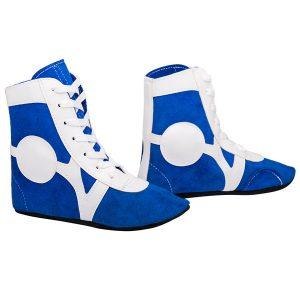 Обувь для самбо SM-0101 синие