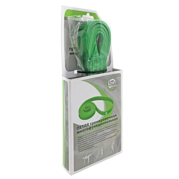 Петля тренировочная многофункциональная 25кг, зеленая