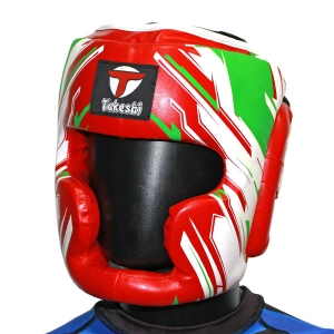 Шлем закрытый Takeshi TFG-13-04 красный