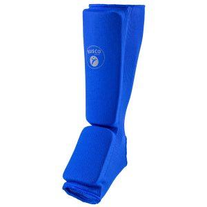 Защита голени и стопы синяя