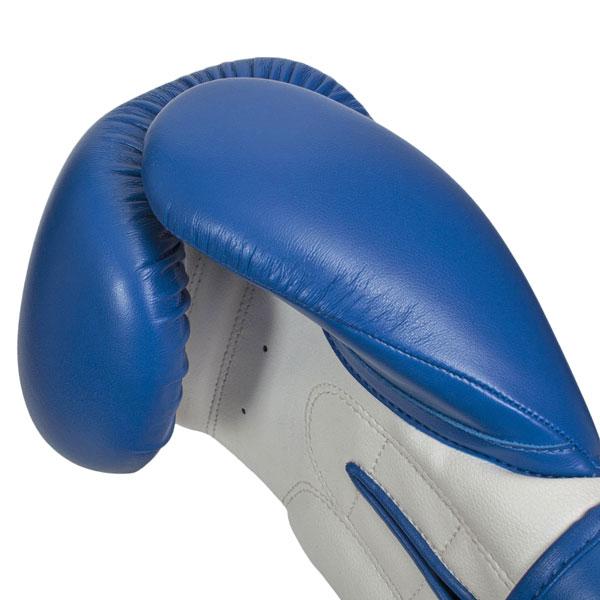 Перчатки боксерские Clinch Fight C133 сине-белые фото
