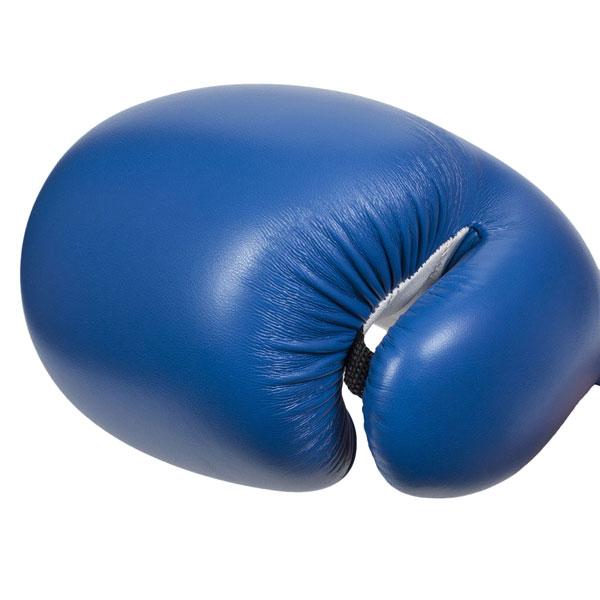Перчатки боксерские Clinch Fight C133 сине-белые