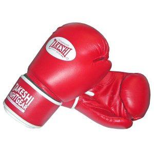 Перчатки боксерские Takeshi (10, 12 oz) TFG-11-31 красные фото