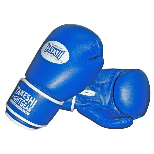 Перчатки боксерские Takeshi (10, 12 oz) TFG-11-31 синие фото
