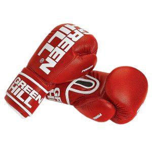 Перчатки боксерские Green Hill Power BGP-2226 красные