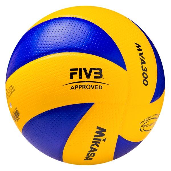 Мяч волейбольный MVA 300 FIVB Approved Mikasa фото