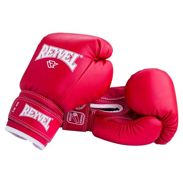 Перчатки боксерские RV-101 красные