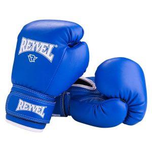 Перчатки боксерские RV-101 синие