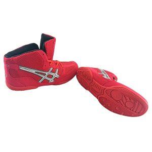 Борцовки MATFLEX тканевые красные