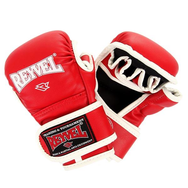 Перчатки ММА Reyvel красные