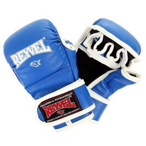 Перчатки ММА Reyvel синие
