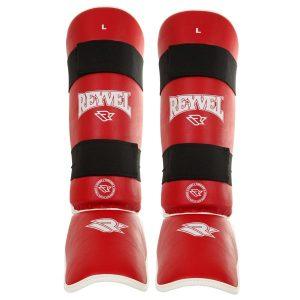 Фото защита голеностопа Reyvel красная