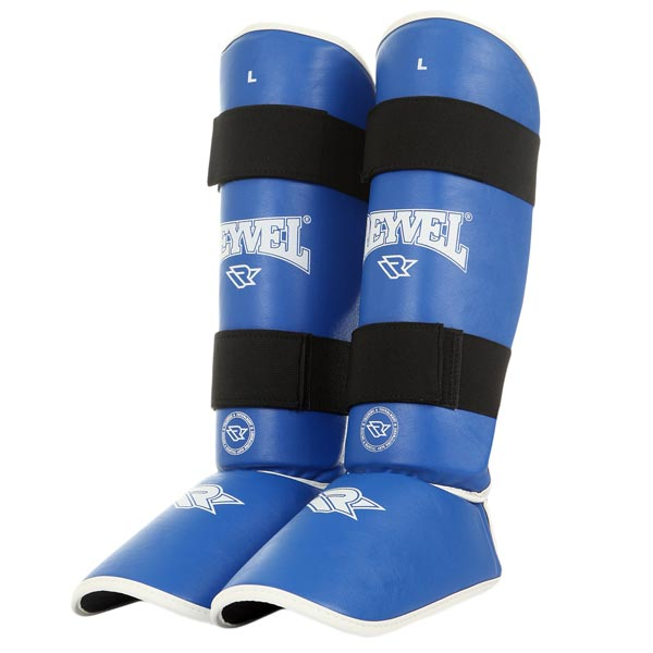 Защита голеностопа Reyvel синяя фото