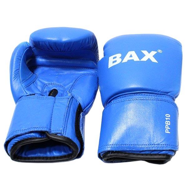 Боксерские перчатки BAX синие