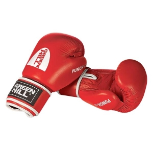Перчатки боксерские Green Hill Punch II красные