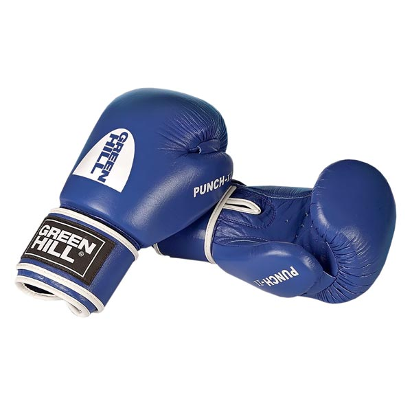 Перчатки боксерские Green Hill Punch II синие