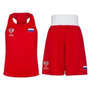 Форма боксерская Clinch Competition ФБР C115 красная