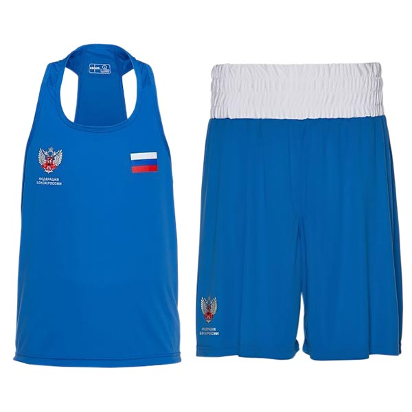 Форма боксерская Clinch Competition ФБР C115 синяя