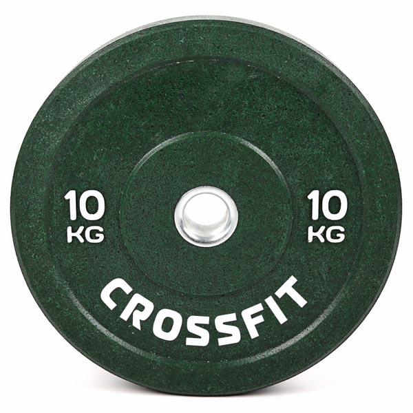 Резиновый диск для кроссфита d-51мм 10 кг