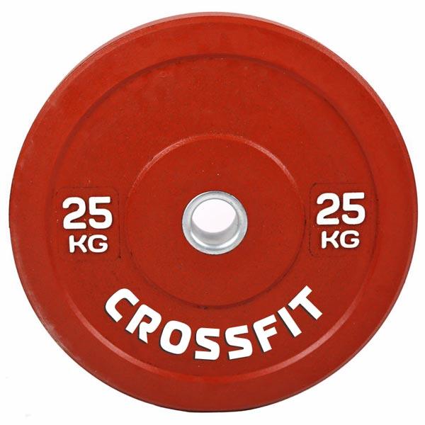 Резиновый диск для кроссфита d-51мм 25 кг