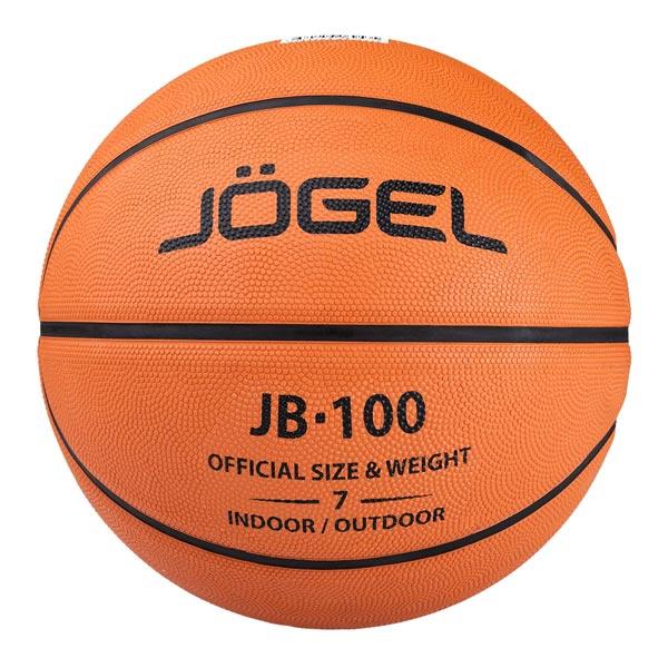 Мяч баскетбольный JB-100 (100/7-19) р.7 Jögel