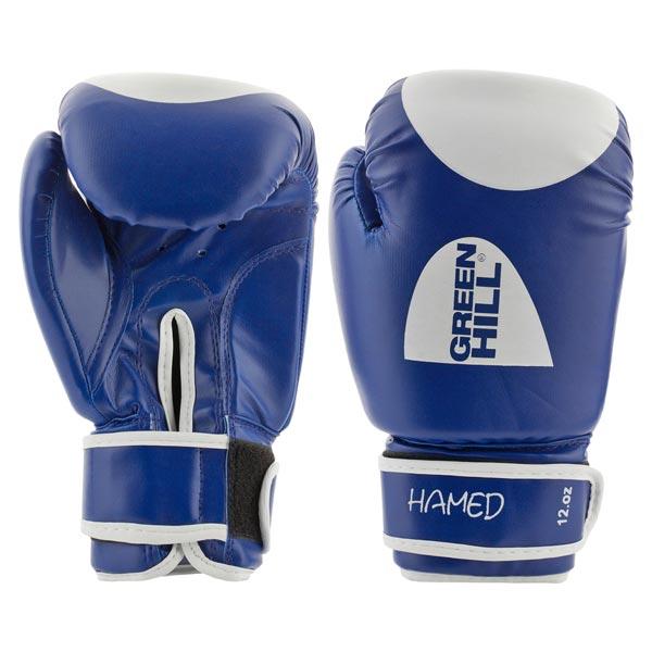 Перчатки боксерские Green Hill Hamed G-20363 синие