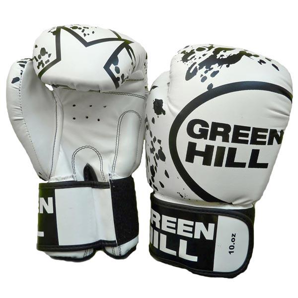 Боксерские перчатки Green Hill star BGS-2219