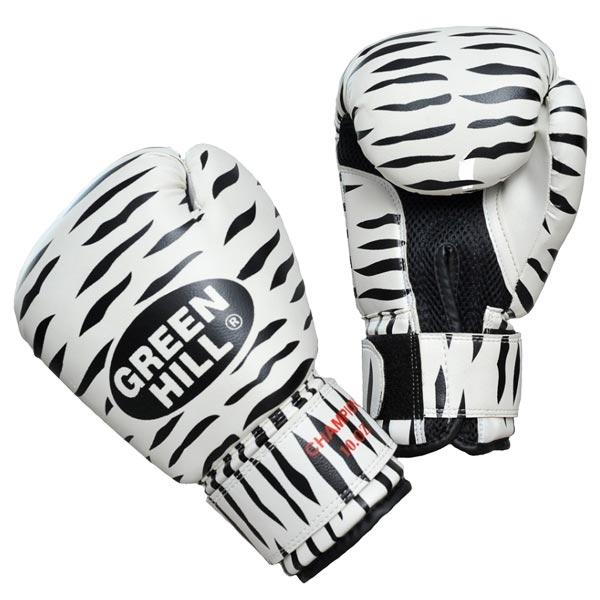 Perchatki Bokserskie Green Hill Zebra Bgc 2041