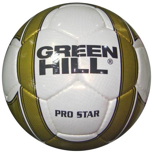Мяч футбольный GREEN HILL PRO STAR FB-9103
